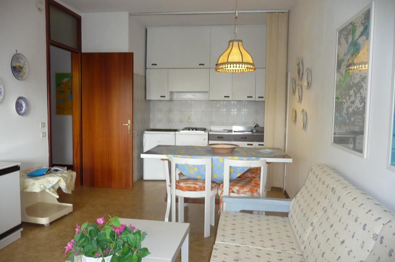 duna verde appartamenti fronte mare - airone albatros - Soggiorno Piccolo Con Angolo Cottura